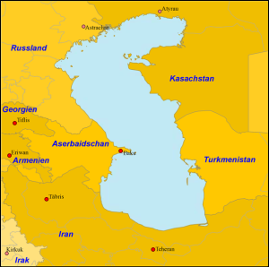 Kaspisches Meer und Anrainerstaaten