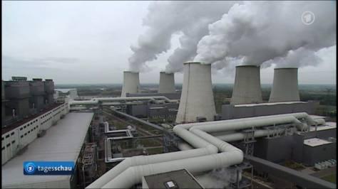 Kohlekraftwerk (Quelle: ARD Tagesschau)