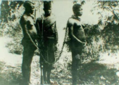 Kongo: Versklavte Bevölkerung (Quelle: ARTE)