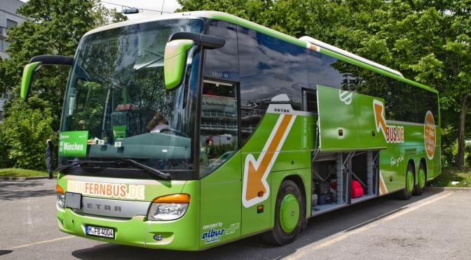 Der Bahn auf der Pelle: Mega-Fusion auf dem Fernbusmarkt