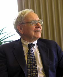 Warren Buffet (Quelle: Wikipedia)