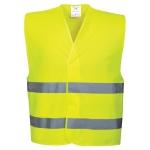 Warnweste-Gelb-EN-ISO-20471-in-4-groessen-S-M-L-XL-XXL-3XL-4XL-5XL